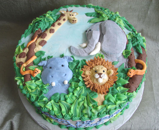 Cake Design Animal : Untitled Document [dolcecakedesign.com]